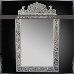 BNFR-029 A BONE INLAID ARCHED MIRROR FRAME