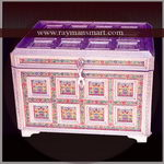 MNBX-012 A SMALL SIZE BOX FOR KEEPING JEWELLERY OR SMALL MOMENTO
