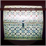 MNBX-208 A TRADITIONAL MEENAKARI BOX FOR KEEPING JEWELLERY