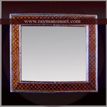MNFR-063 A DIFFERENT & UNIQUE MEENAKARI MIRROR FRAME