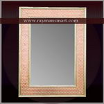 MNFR-115 A FANCY MEENAKARI MIRROR FRAME WITH DIFFERENT LOOK