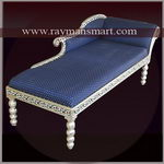 MNLN-010 A BEAUTIFUL HERITAGE MEENAKARI LOUNGER