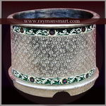 MNPL-015 A ROYAL LOOK MEENAKARI PLANTER