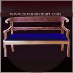 MNSF-016 A ATTRACTIVE MEENAKARI  SOFA CHAIR