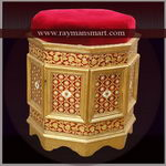 MNST-049 A MEENAKARI AWESOME STOOL