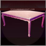 MNTB-036 A BEAUTIFUL MEENAKARI DINING TABLE