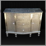 WMAL-120 WHITE METAL CHEST OF 4 DRAWER