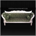 SCSF-050 A SILVER CLADDED SOFA SET