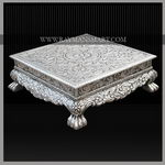 SLFS-027 A REMARKBLE SILVER FOOT STOOL WITH AWESOME T0P