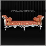 SLLN-025 A PURE SILVER CLADDED DAY BED