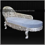SLLN-031 A EXQUSITE LOUNGER IN PURE SILVER